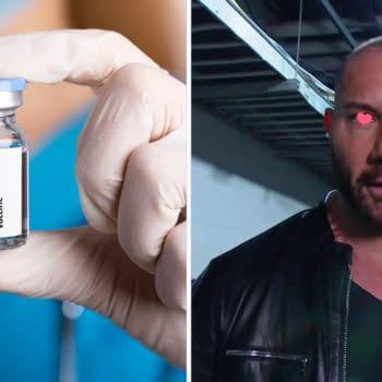 Dave Bautista is Sexually Attracted to Coronavirus Vaccines