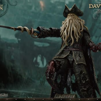 Pirates of the Caribbean Davy Jones Comes to Beast Kingdom