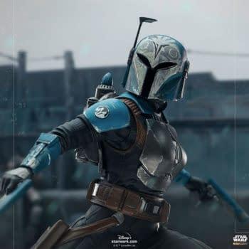 Iron Studios Debuts New Star Wars: The Mandalorian Bo-Katan Statue