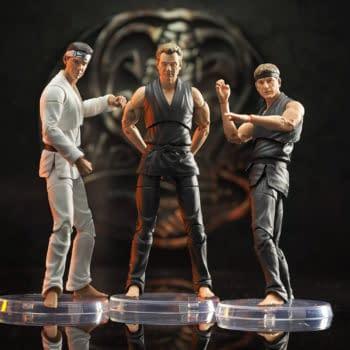 Cobra Kai Series 1 Figures Revealed by Diamond Select Toys