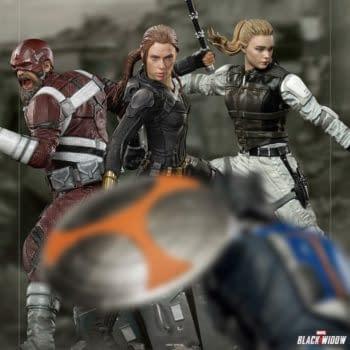 Iron Studios Reveals Final Black Widow Statue With Natasha Romanoff