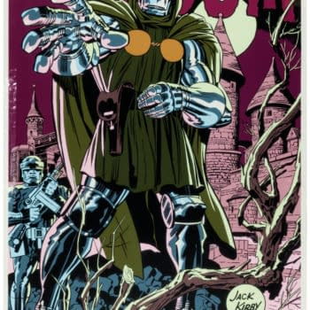 Jack Kirby Doctor Doom Print On Auction Right Now At Heritage Auctions