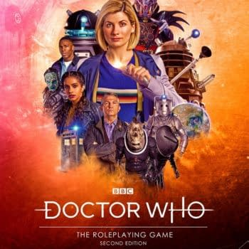 Doctor Who: The Roleplaying Game Second Edition Has Been Released