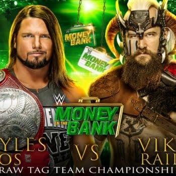 Tag-Team Champions AJ Styles & Omos vs. the Viking Raiders at MIIT
