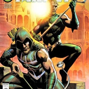 Aquaman & Green Arrow Team Up In Deep Target #1 From DC in October