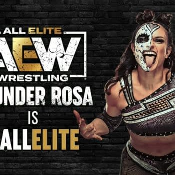 AEW has officially signed Thunder Rosa to a contract
