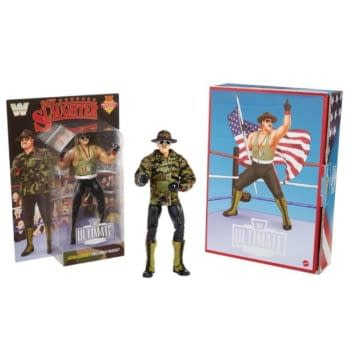 WWE Ultimate Sgt. Slaughter Revealed For Mattel Creations