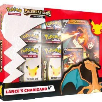Pokémon TCG: Celebrations Promos Revealed: Lance's Charizard & More