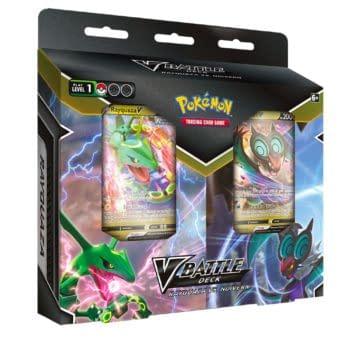Pokémon TCG Announces New Rayquaza & Noivern Decks