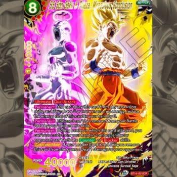 Goku & Frieza Team Up in Dragon Ball Super: Cross Spirits Secret Rare