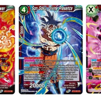 Goku Masters Ultra Instinct in Dragon Ball Super CG: Cross Spirits