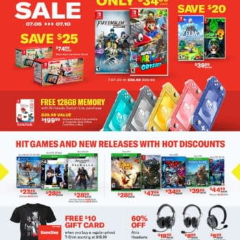 GameStop Hosting A 5-Day Summer Sales Event, Starting Today