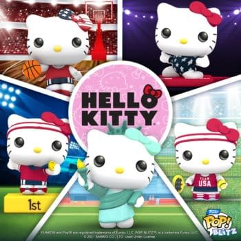Hello Kitty Competes In The Summer Games In Funko Pop! Blitz