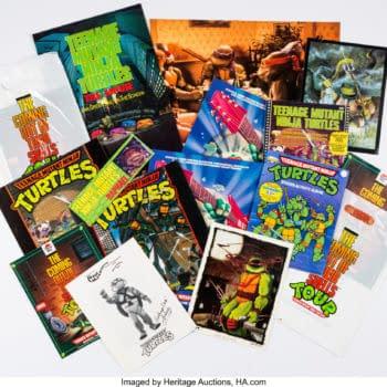 Teenage Mutant Ninja Turtles Fans Can Bid On Memorabilia Selection