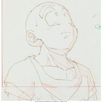 Krillin Fans Rejoice at This Dragon Ball Z Original Artwork