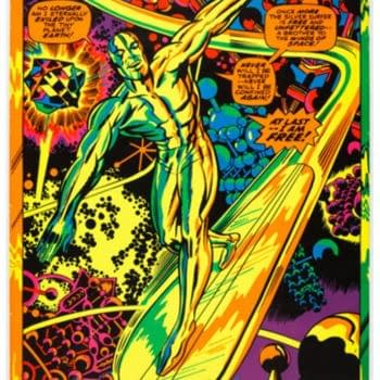 Jack Kirby Gets Psychedelic With This Intense Silver Surfer Piece