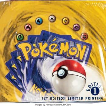 Pokémon TCG 1st Edition Base Set Booster Box Up For Bid