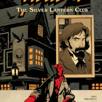 Cover to Hellboy: The Silver Lantern Club