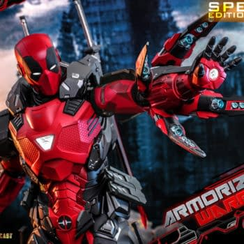 Deadpool Steals Some Iron Man Armor Thanks to Hot Toys