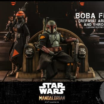 Prepare for Star Wars: The Book of Boba Fett With Hot Toys