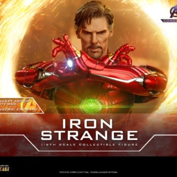 Doctor Strange Gets His Own Iron Man Armor With Hot Toys