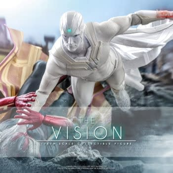 Hot Toys Reveals WandaVision White The Vision Is On The Way