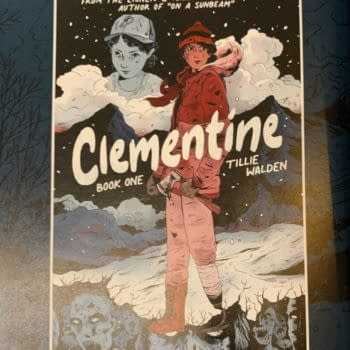 First Appearance Of Walking Dead's Clemetine In Tomorrow's Skybound X