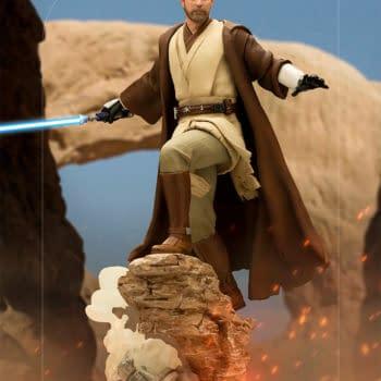 Obi-Wan Kenobi Returns With Iron Studios Newest Star Wars Statue
