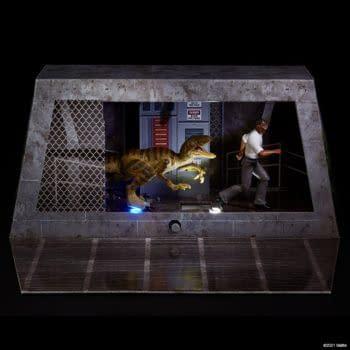 Mattel Reveals SDCC Jurassic Park Ray Arnold Exclusive Figure Set
