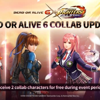 The King Of Fighters AllStar Finally Collaborates With Dead Or Alive 6