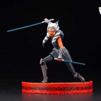 Ahsoka Tano Joins Kotobukiya's Star Wars ARTFX Statue