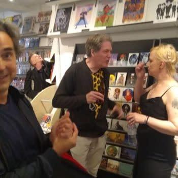 London's Orbital Comics Gallery Welcomed Comics Creators Last Night