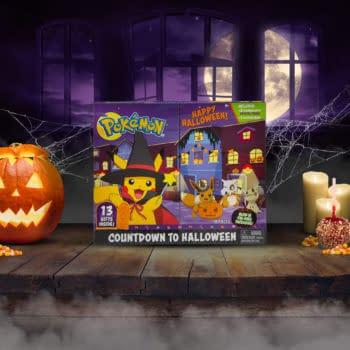 Pokémon Celebrate Halloween With Jazwares New Advent Calendar