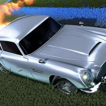 James Bond's Aston Martin Is Coming To Rocket League