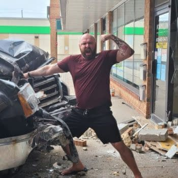 Comic Shop Owner Narrow;ly Avoided Death By FedEx