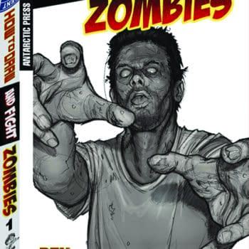 Cover image for HOW TO DRAW & FIGHT ZOMBIES SUPERSIZE TP (O/A)
