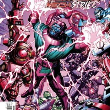 Cover image for AVENGERS MECH STRIKE #5 (OF 5)