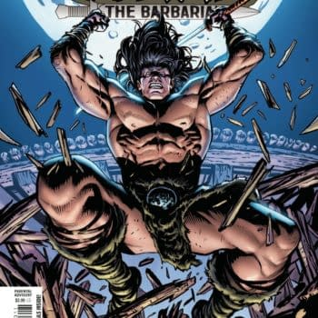 Cover image for CONAN THE BARBARIAN #23