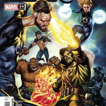 Cover image for FANTASTIC FOUR #34