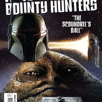 Cover image for MAY210670 STAR WARS WAR OF THE BOUNTY HUNTERS #2 (OF 5), by (W) Charles Soule (A) Luke Ross (CA) Steve McNiven, in stores Wednesday, July 14, 2021 from MARVEL COMICS