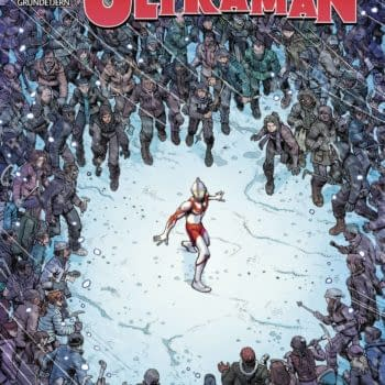 Cover image for TRIALS OF ULTRAMAN #4 (OF 5)