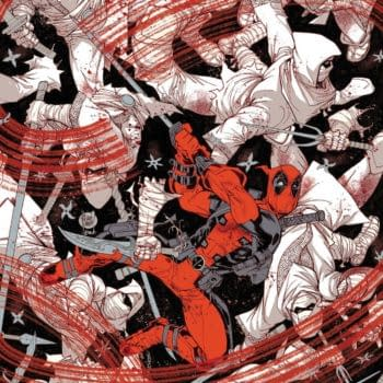 Deadpool: Black, White And Blood Drops From Five Issues To Four
