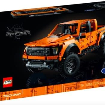 Build the Ford F-150 Raptor With LEGO's Newest Technic Set