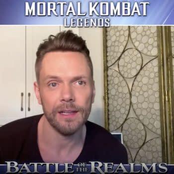 Mortal Kombat Legend's Joel McHale Compares Cage to Winger & More