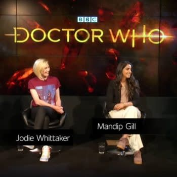 Doctor Who: the Fun Things Said at the SDCC@Home Panel