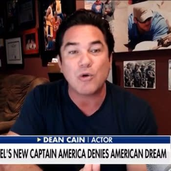 Fox News And Dean Cain Show They Haven't Read Captain America Either