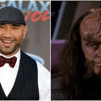 Star Trek: Actor Dave Bautista Pitching Himself to Be a Klingon