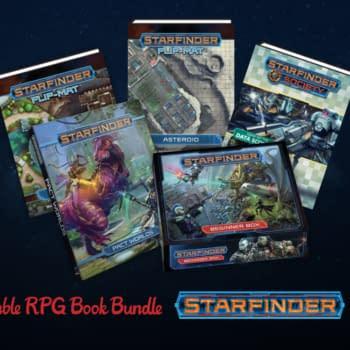 Humble Bundle Launches Starfinder Book Bundle For Comics Benefit