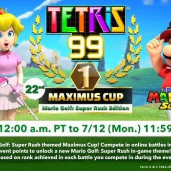 Tetris 99 Golf