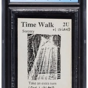 Magic: The Gathering Gamma Playtest Time Walk At Heritage Auctions